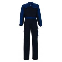 Mascot Image Verona Boilersuit With Kneepad Pockets Navy Royal