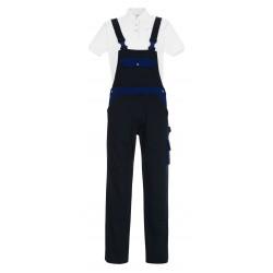 Mascot Image Monza Bib & Brace With Kneepad Pockets - Navy/royal