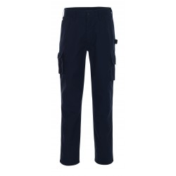 Mascot Hardwear 03079 Trousers With Thigh Pockets Navy