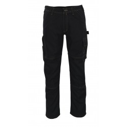 Mascot Young 05279 Trousers With Thigh Pockets Black