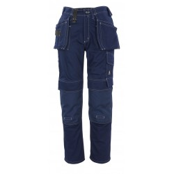 Mascot Hardwear 06131 Trousers With Kneepad Pockets And Holster Pockets Navy