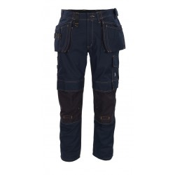 Mascot Young 06231 Trousers With Kneepad Pockets And Holster Pockets Dark Navy