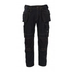 Mascot Young 06231 Trousers With Kneepad Pockets And Holster Pockets Black