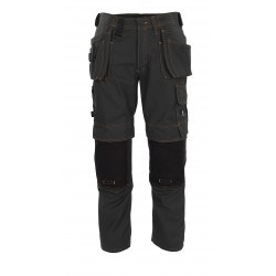 Mascot Young 06231 Trousers With Kneepad Pockets And Holster Pockets Dark Anthracite
