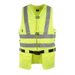 Mascot Safe Classic Yorkton Tool Vest - Hi-vis Yellow