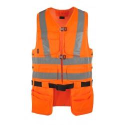 Mascot Safe Classic Yorkton Tool Vest - Hi-vis Orange