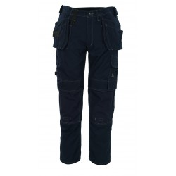 Mascot Hardwear 08131 Trousers With Kneepad Pockets And Holster Pockets Navy
