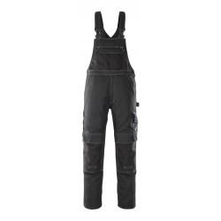 Mascot Hardwear Orense Bib & Brace With Kneepad Pockets - Black