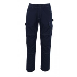 Mascot Hardwear 08679 Trousers With Thigh Pockets Navy