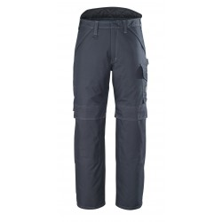 Mascot Industry 10090 Winter Trousers With Kneepad Pockets Dark Navy