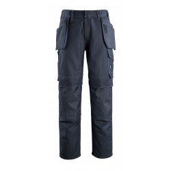Mascot Industry 10131 Trousers With Kneepad Pockets And Holster Pockets Dark Navy