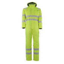 Mascot Safe Arctic Tombos Winter Boilersuit - Hi-vis Yellow
