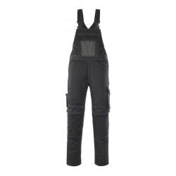 Mascot Safe Unique Leipzig Bib & Brace With Kneepad Pockets - Black/dark Anthracite