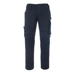 Mascot Unique 12179 Trousers With Kneepad Pockets Dark Navy Royal