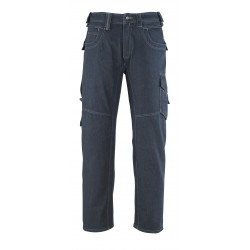 Mascot Young 13379 Jeans With Thigh Pockets Denim Blue