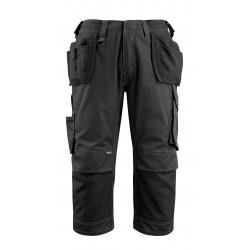 Mascot Safe Unique Lindau ? Length Pants With Kneepad Pockets And Holster Pockets - Black