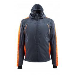 Mascot Hardwear 15001 Outer Shell Jacket Dark Navy/Hi-Vis Orange