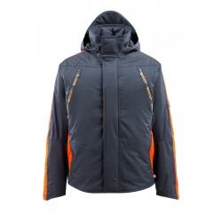 Mascot Hardwear 15035 Winter Jacket Dark Navy Hi-Vis Orange