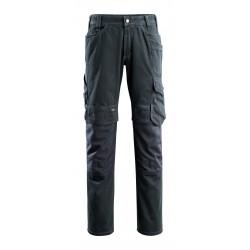 Mascot Hardwear 15179 Jeans With Kneepad Pockets Dark Blue Denim