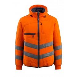 Mascot Safe Supreme Dartford Jacket - Hi-vis Orange Dark Navy