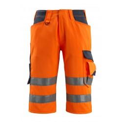 Mascot Safe Supreme Luton © Length Pants - Hi-vis Orange/dark Navy