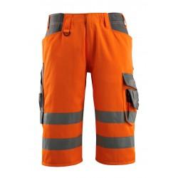 Mascot Safe Supreme Luton © Length Pants - Hi-vis Orange/dark Anthracite