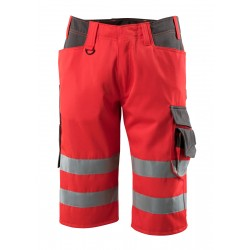 Mascot Safe Supreme Luton © Length Pants - Hi-vis Red/dark Anthracite