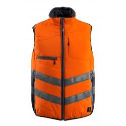 Mascot Safe Supreme Grimsby Winter Gilet - Hi-vis Orange/dark Navy