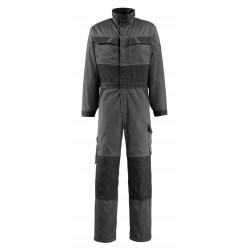 Mascot Light Boilersuit With Kneepad Pockets Dark Anthracite Black