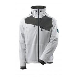 Mascot Advanced 17001 Outer Shell Jacket White Dark Anthracite