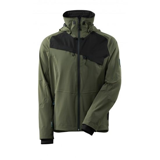 Mascot Advanced 17001 Outer Shell Jacket Moss Green Black