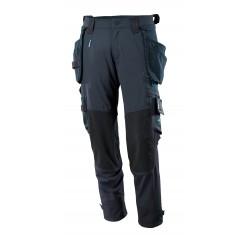 Mascot Advanced 17031 Pants With Kneepad Pockets And Holster Pockets Dark Navy
