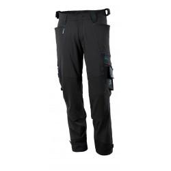 Mascot Advanced 17079 Pants With Kneepad Pockets Black