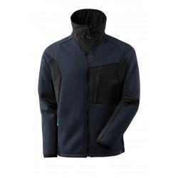 Mascot Advanced 17105 Knitted Jacket With Zipper Dark Navy Black