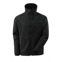 Mascot Advanced 17105 Knitted Jacket With Zipper Black
