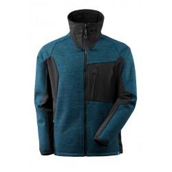 Mascot Advanced 17105 Knitted Jacket With Zipper Dark Petroleum Black