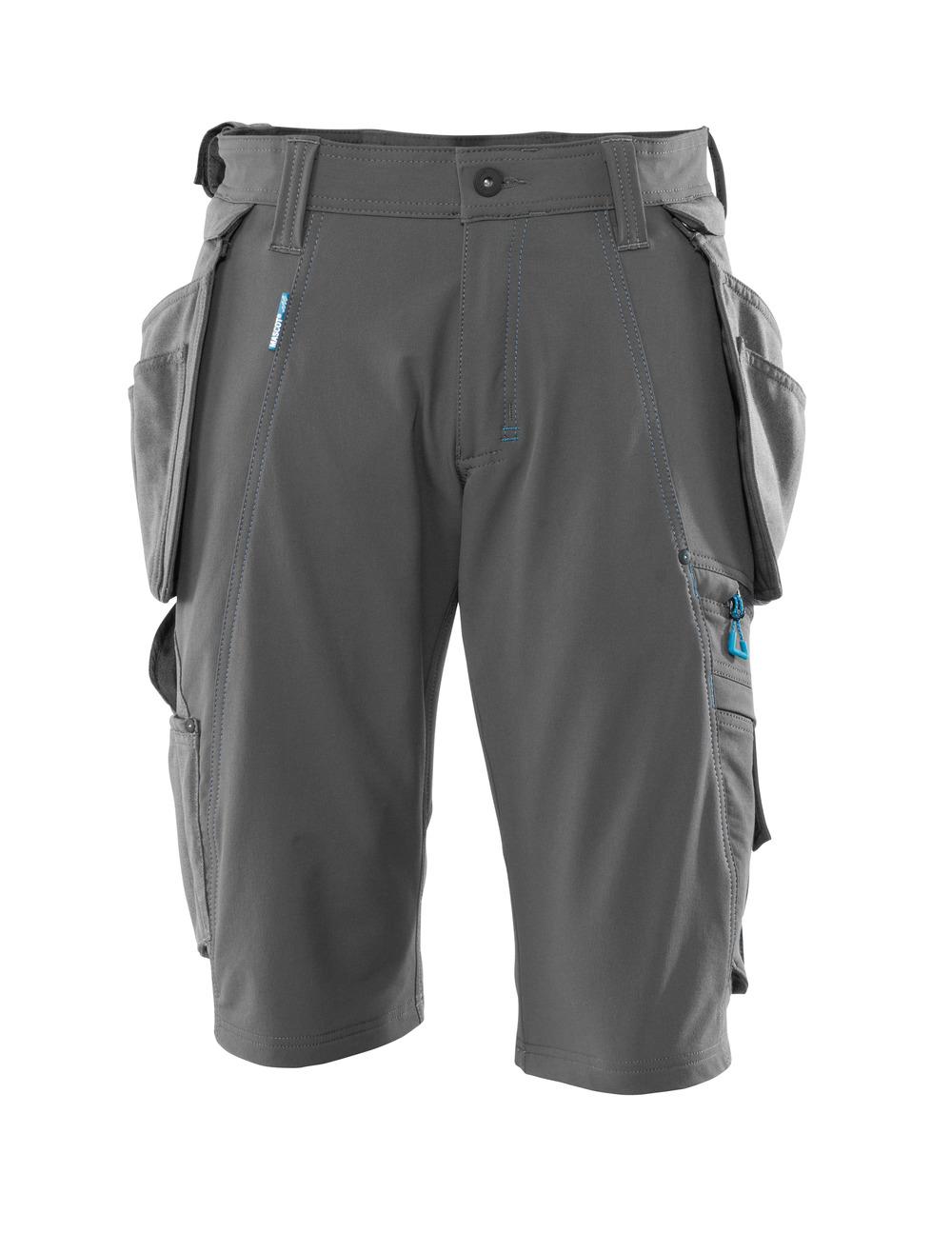 Mascot 17049-311-44-C66 Stretch Shorts Size C66 Dark Petroleum