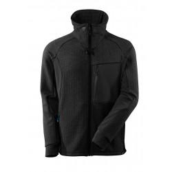 Mascot Advanced 17484 Sweatshirt With Zipper Black