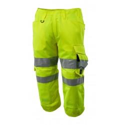 Mascot Safe 17549 Supreme © Length Pants With Kneepad Pockets - Hi-vis Yellow