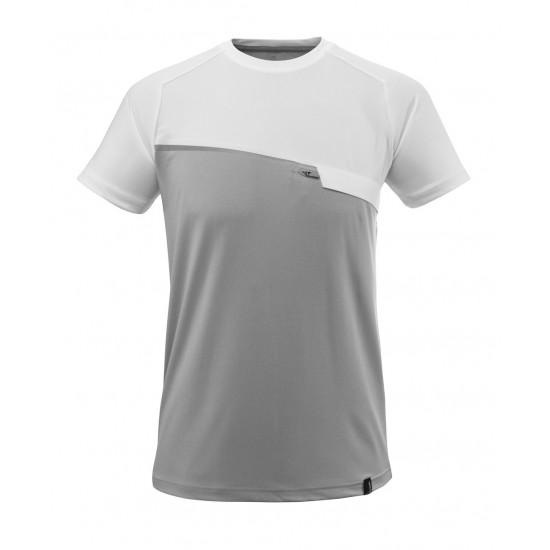 Mascot Advanced 17782 T-shirt Grey Flecked White