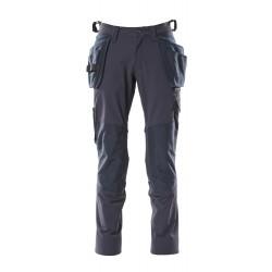 L82cm//C50 Black//Blue Mascot 12355-630-010-82C50Biloxi Trousers