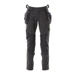 Mascot Accelerate 18031 Pants With Kneepad Pockets And Holster Pockets Black