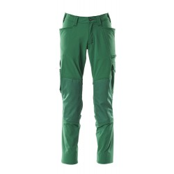 Mascot Accelerate 18079 Pants With Kneepad Pockets Green