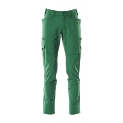 Mascot Accelerate 18279 Pants With Thigh Pockets Green
