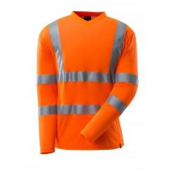 Mascot Safe 18281 Classic T-shirt, Long-sleeved - Hi-vis Orange