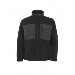 Mascot Young 50057 Softshell Jacket Black Dark Anthracite
