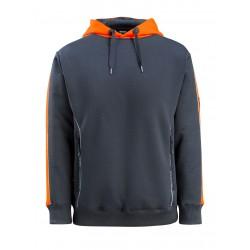 Mascot Hardwear 50124 Hoodie Dark Navy Hi-Vis Orange