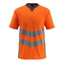 Mascot Safe Supreme Sandwell T-shirt - Hi-vis Orange/dark Navy