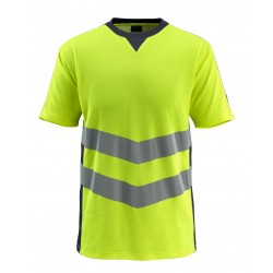Mascot Safe Supreme Sandwell T-shirt - Hi-vis Yellow/dark Navy