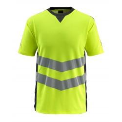 Mascot Safe Supreme Sandwell T-shirt - Hi-vis Yellow/black